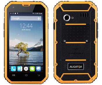 Aligator RX450 eXtremo černo-žlutý