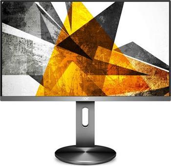 """AOC LCD I2790PQU/BT 27"""" IPS/1920x1080/20m:1/4ms/VGA/HDMI/DP/4xUSB/pivot/repro/tmavě šedá"""