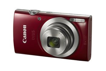 "Canon IXUS 185 RED - 20MP, 8x zoom, 28-224mm, 2,7"" + neoprén. pouzdro"