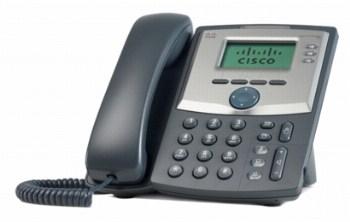Cisco SPA303 SIP 3-line VOIP telefon , LCD displej