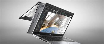"""DELL Precision 3560/7-1165G7/16GB/512GB SSD/15.6"""" FHD/2GB Quadro T500/TB/W10P/3Y PS NBD/šedý"""