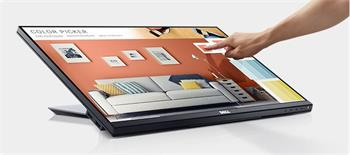 """Dell Professional P2418HT 24"""" WLED/6ms/1000:1/Full HD Touch/VGA/HDMI/DP/USB/IPS panel/cerny"""