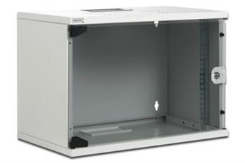 Digitus 9U skříňka montáž na stěnu , 460x540x400mm, barva šedá (RAL 7035)
