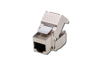 DIGITUS CAT 6 Keystone Jack, připojení bez použití nářadí