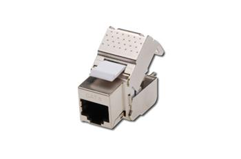 DIGITUS CAT 6 Keystone Jack, shielded, 250 MHz acc. ISO/IEC 11801:2002 AM2:2009/09, tool free connection