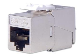 DIGITUS CAT 6A Keystone Jack, shielded, 500 MHz acc.ISO/IEC 60603-7-51,11801 AMD2:2010-04, tool free connec., set 24 pcs