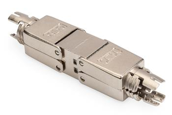 Digitus Field Termination Coupler CAT 6A, 500 MHz for AWG 22-26, fully shielded with metal srew cap
