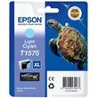 EPSON cartridge T1575 vivid light cyan (želva)
