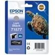 EPSON cartridge T1577 light black (želva)