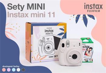 Fujifilm INSTAX MINI 11+ 10 SHOTS - Ice White