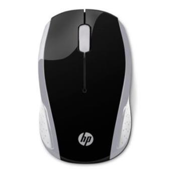 HP myš 200 bezdrátová stříbrná