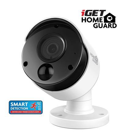 iGET HOMEGUARD HGPRO838 - Přídavná Full HD kamera k kamerovému systému iGET HGDVK84404, SMART detekce pohybu, Full HD