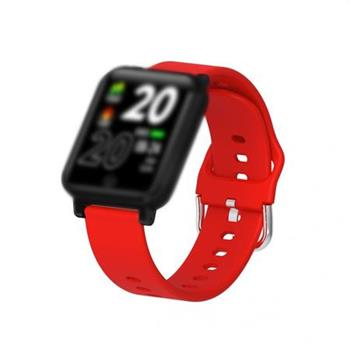 IMMAX řemínek pro chytré hodinky TEMP WATCH červený