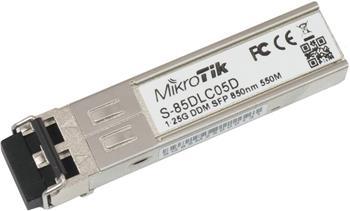 MikroTik optický modul S-85DLC05D, MM, 550m, 1.25G