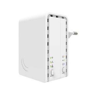 MikroTik PL7411-2nD Powerline adaptér s AP, PWR-Line AP EU