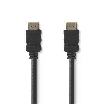 Nedis CVGT34000BK20 - Kabel High Speed HDMI™ s Ethernetem   Konektor HDMI™ – konektor HDMI™   2 m   Černá barva
