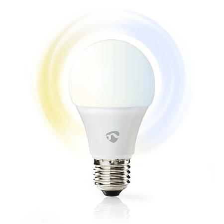Nedis WIFILW10WTE27 - WiFi Chytrá LED Žárovka | Teplá až Studená Bílá | E27