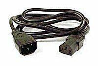 PremiumCord prodlužovací kabel napájení 240V, délka 5m IEC C13/C14
