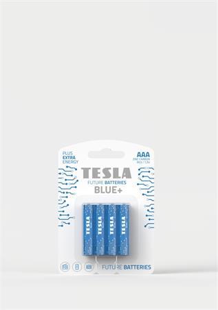 Tesla AAA BLUE+ zinkouhlíková, 4 ks, ND