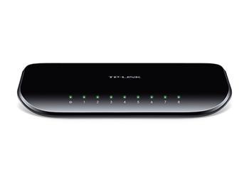 TP-Link TL-SG1008D Switch 8xTP 10/100/1000Mbps, plastový