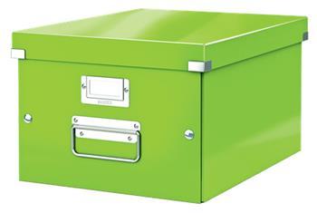 Univerzální krabice Leitz Click&Store, velikost M (A4), zelená