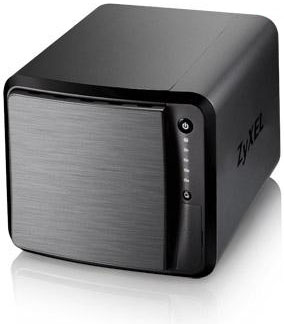 "ZyXEL NAS542, 4-bay Dual Core Personal Cloud Storage, Dual Core CPU 1.2GHz, 1GB DDR3 memory, 4 SATA II 2.5""/3.5"" HDD, R"