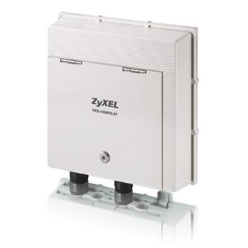 Zyxel VES-1608FE-57A VDSL2 DSLAM 8-port VDSL2 environmental harden Switch (ISDN) Profile 30a (AnnexB)